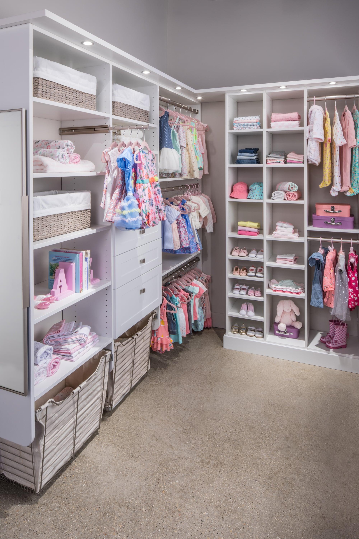 Girl S Walk In Closets Inspired Closets Custom Closets Anchorage Closet Design Install Inspired Closets