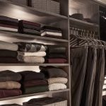 Inspired closets closet with shelves and clothing racks