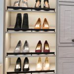 Inspired Closets Shelves for Shoes