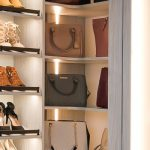 Inspired Closets Shelves for Shoes and Handbags