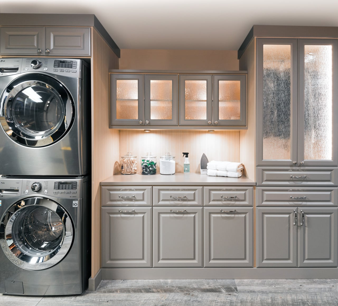 Laundry Room Cabinets Organization