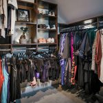 Inspired Closets closet with clothing racks and shelves