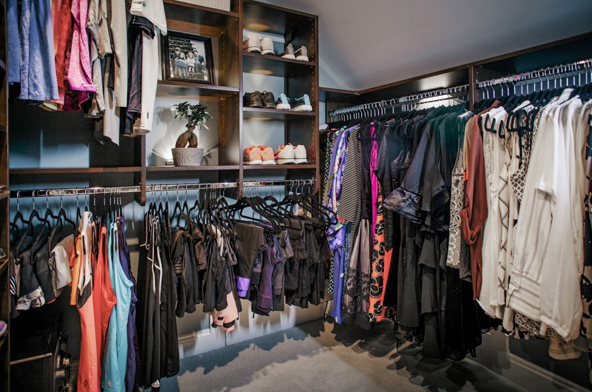 Custom Walk In Closet Organizers Inspired Closets