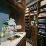 Close Up on Inspired Closets closet with shelves and belongings