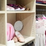 Wood Reach-In Kids Closets with Shelves and Hanging Storage in Baton Rouge, LA