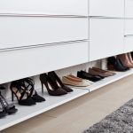 Modern Shoe Storage for Walk-In Closet