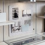 Modern Floating Shelves and Jewelry Tray for Walk-In Closet