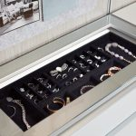 Modern Light Up Jewelry Tray and Storage for Closet