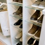 Exclusive Inspired Closets Shoe Shrine in Custom Boutique Closet in Richmond, VA