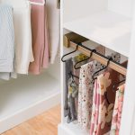 Custom Hanging Storage for a Boutique Closet in Richmond, VA