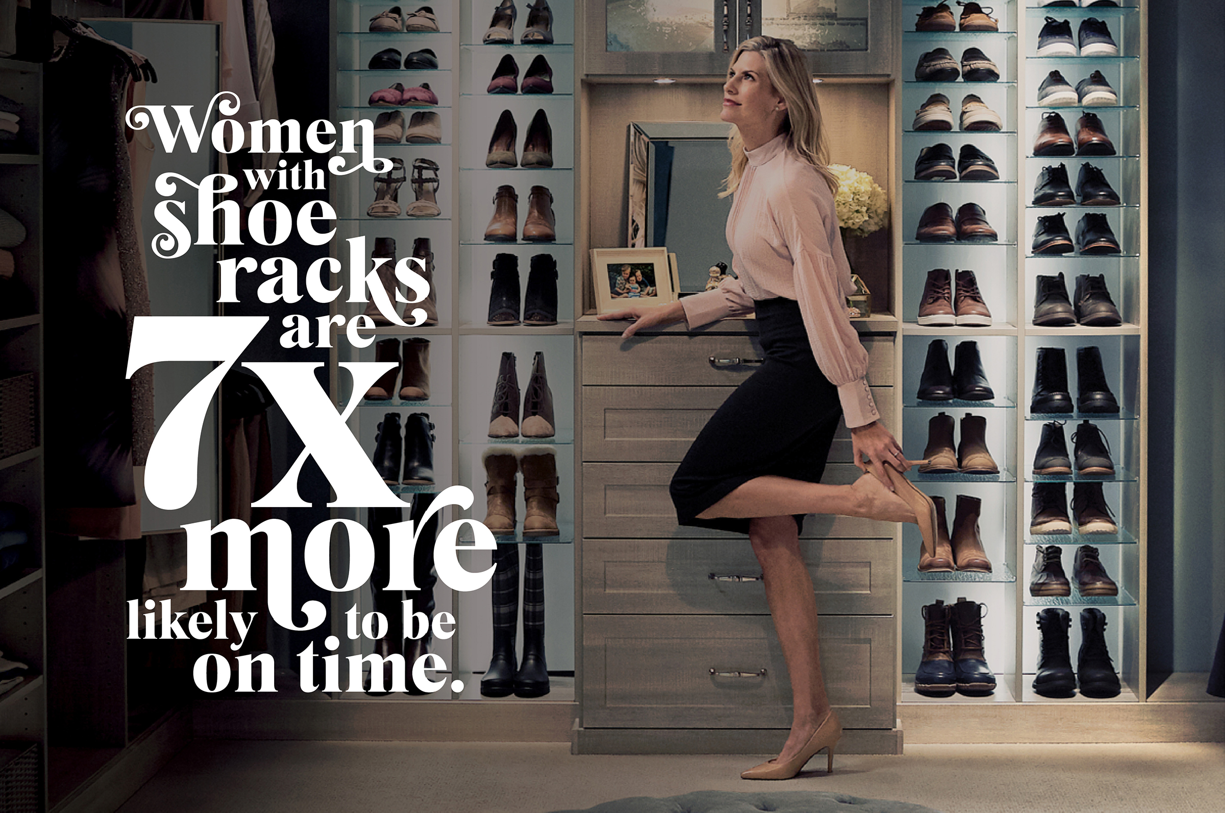 Proper shoe storage save time